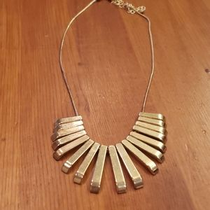 Gold Bar Minimalist LC Necklace